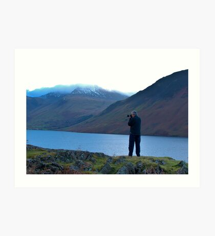 Shooting the Water at Wastwater Art Print