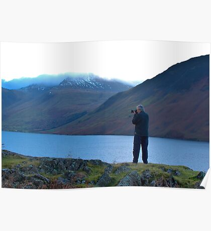 Shooting the Water at Wastwater Poster