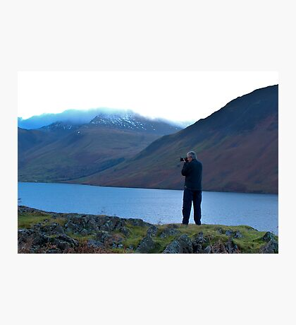 Shooting the Water at Wastwater Photographic Print