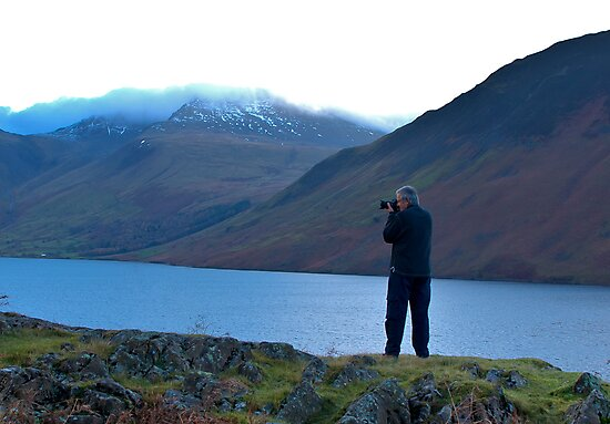 Shooting the Water at Wastwater by Trevor Kersley