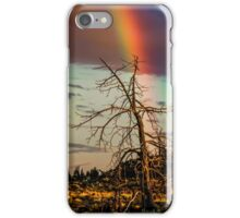Rainbows-n-old Juniper iPhone Case/Skin