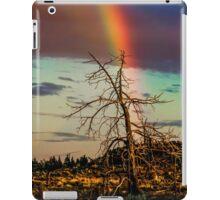 Rainbows-n-old Juniper iPad Case/Skin