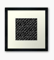 Dark magic print  Framed Print