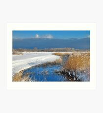 Winter in Renesse 2 Art Print