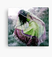 Fearless Dancing Canvas Print