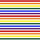 Wide Pride Stripes by technoqueer