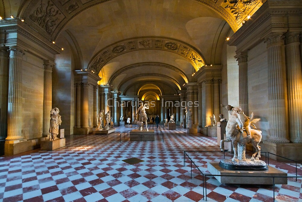 Louvre in Paris  by Charuhas  Images