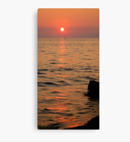Verudela Beach, Pula, Croatia Canvas Print