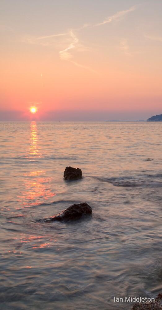 Verudela Beach, Pula, Croatia by Ian Middleton