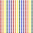 Vertical Pride Dots by technoqueer