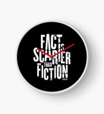 Casefile True Crime – Fact Is Scarier Than Fiction (Light) Clock