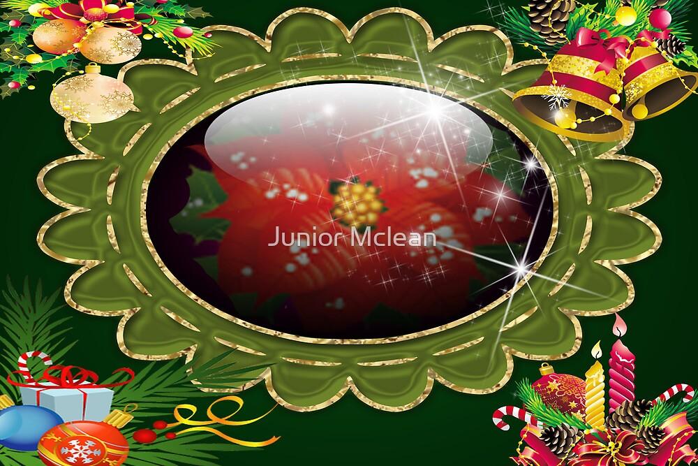Christmas Card # 2 by Junior Mclean