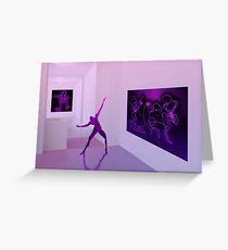 Dancing gallery Greeting Card
