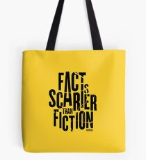 Casefile True Crime – Fact Is Scarier Than Fiction (Dark) Tote Bag