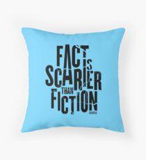 Casefile True Crime – Fact Is Scarier Than Fiction (Dark) Floor Pillow