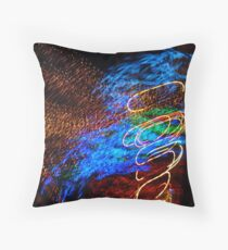 Abstract Angel by Bradley Blalock Throw Pillow