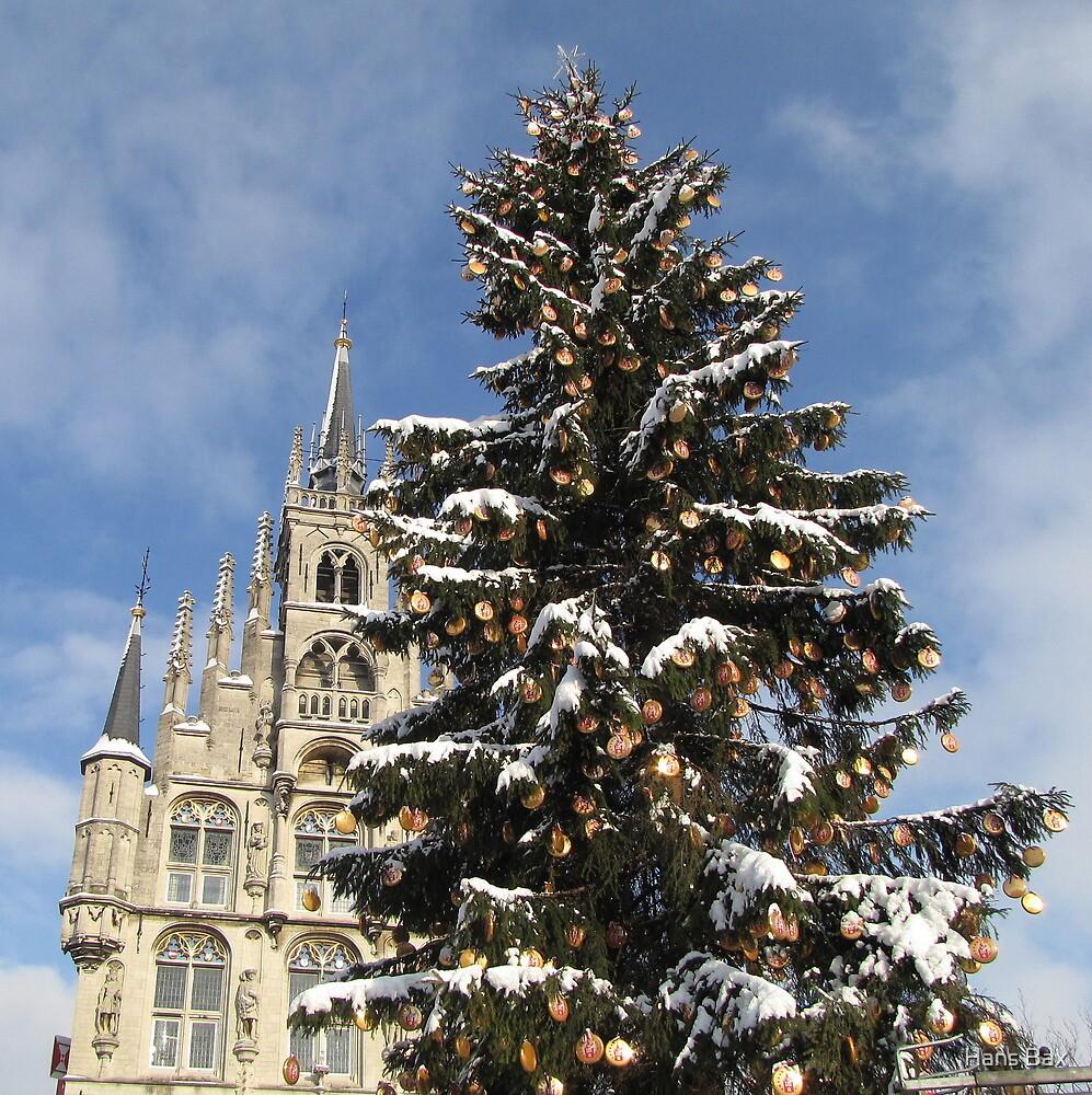 Christmas in Gouda III by Hans Bax