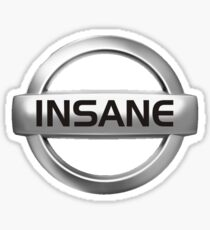 Insane Nissan Badge - JDM Decal Sticker
