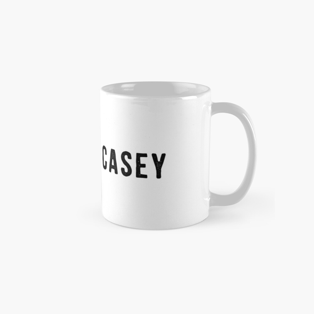 Casefile True Crime – No. I Am Casey (Dark) Mug