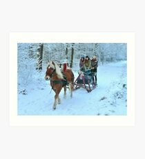 A Happy Christmas to all of you Art Print