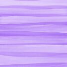 Lavender Watercolor Lines Pattern by blueskywhimsy