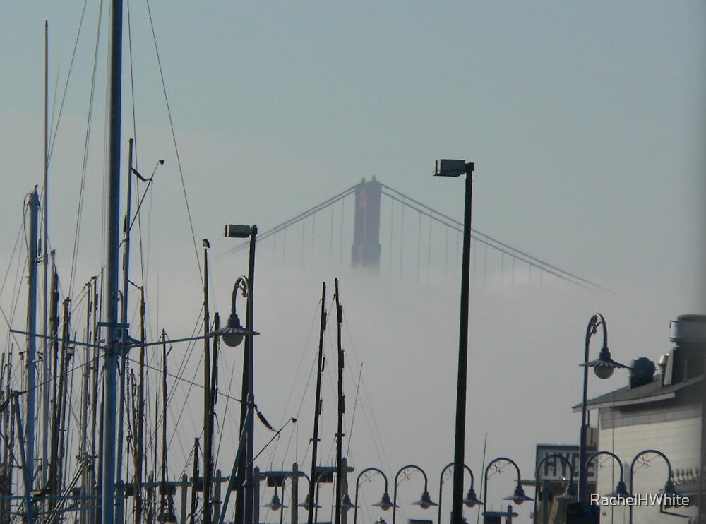 first sight of the Golden Gate by RachelHWhite