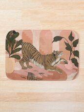 Alfombra de baño Tranquilo tigre