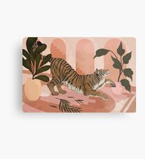 Easy Tiger Metal Print