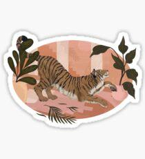 Easy Tiger Glossy Sticker