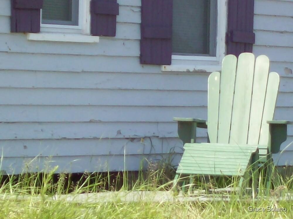 Adirondack Chair  by Graciela Maria Solano