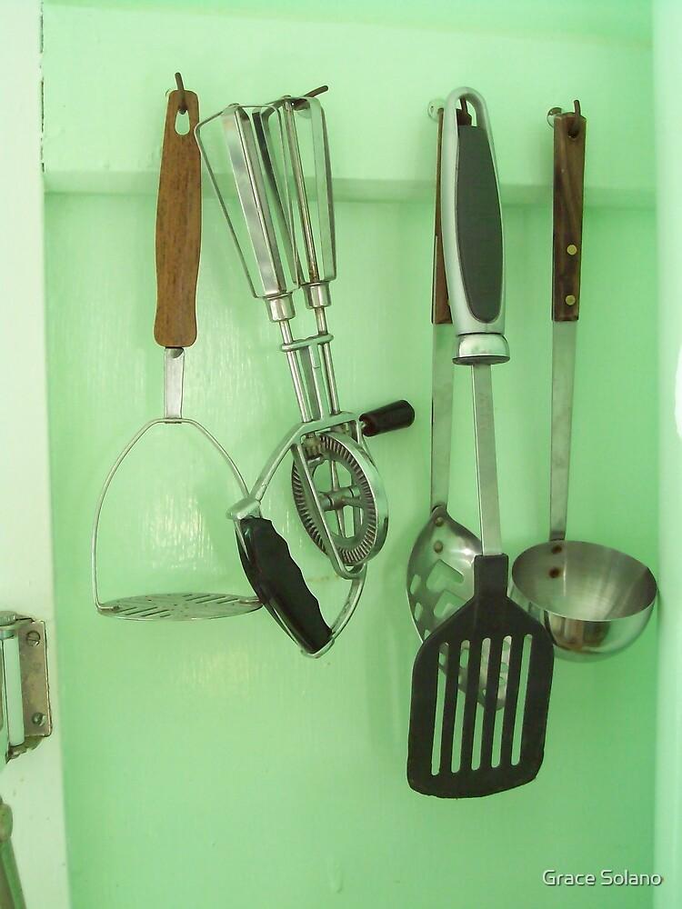 In the Kitchen by Graciela Maria Solano