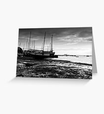 Boats - West Mersea, Essex Greeting Card