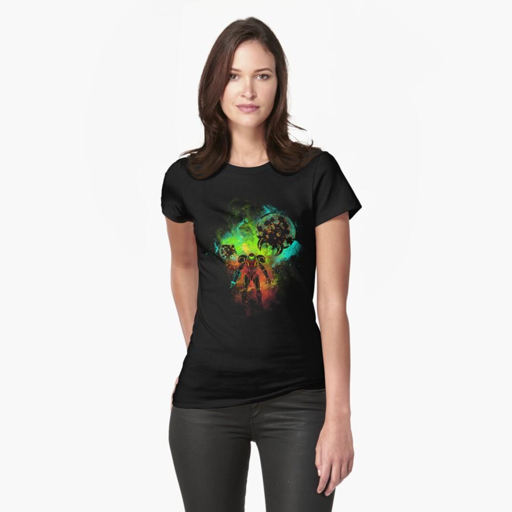 Bounty Hunter of Space Camiseta entallada