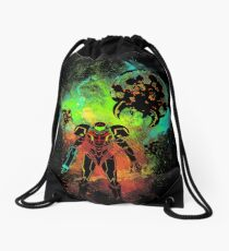 Bounty Hunter of Space Drawstring Bag