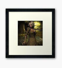 The elven peasant girl Framed Print