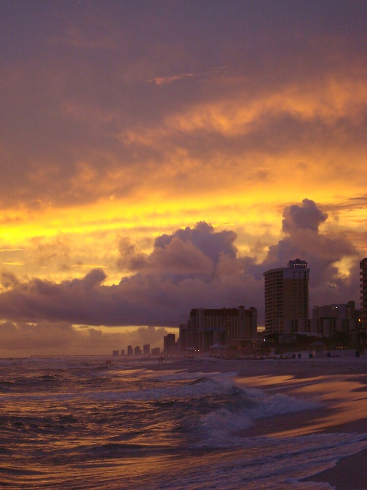 Cloud City Fires- Panama City Beach, Fl by deathbybbq