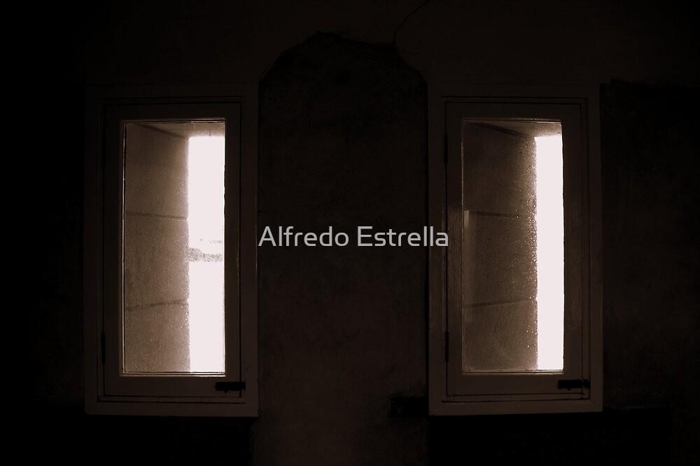 Windows of Fort Denison 1 by Alfredo Estrella