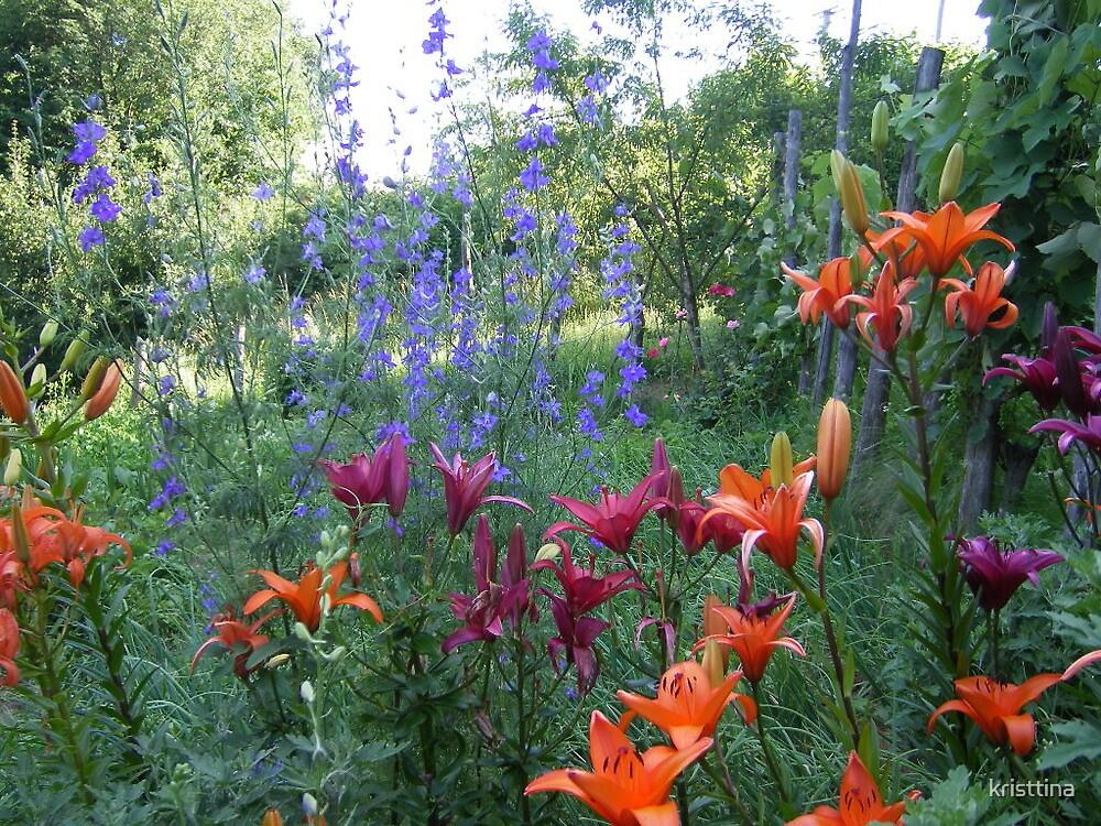 flower garden by kristtina