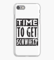 Rick and Morty Get Schwifty Lyrics Print iPhone Case/Skin