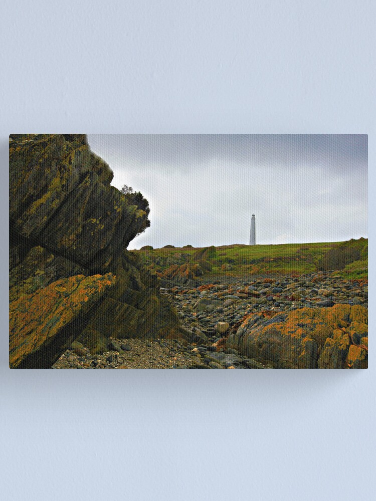 Alternate view of Cape Wickham Lighthouse - King Island Canvas Print