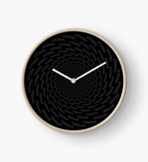 Stoic - Vortex to Calm - Stay Stoic Clock