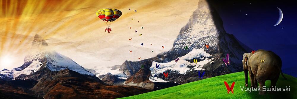 up and over by Voytek Swiderski