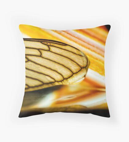 On Stolen Glass Throw Pillow