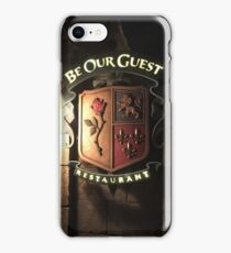 Be Our Guest Restaurant  iPhone Case/Skin