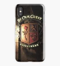 Be Our Guest Restaurant  iPhone Case