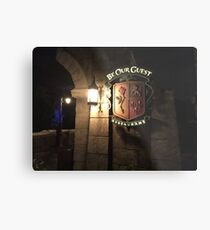 Be Our Guest Restaurant  Metal Print