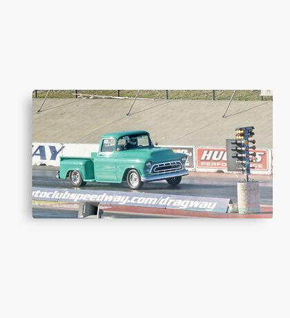 Shades of Green; Summit Series Racing; January 2009; Fomoso Raceway, Mcfarland, CA USA; Lei Hedger Photography All Rights Reserved Metal Print