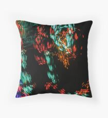 Glimps in Your Dimension by Bradley Blalock Throw Pillow