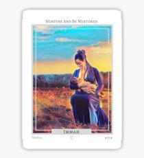 Immah (Mother) from Eht/Aht: a netivot wisdom oracle Sticker
