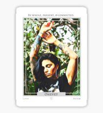Ohevet (Lover) from Eht/Aht: a netivot wisdom oracle Sticker